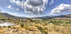 Panormica de Arbuniel (Adri Cabo) Tags: panoramica pano paisaje paisatge landscape jaen arbuniel andalucia tokina1224 autopano sky clouds hdr