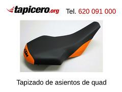 Tapizar asiento de quad (Tapicero de motos) Tags: quad tapizado asiento tapizar barcelona modificar