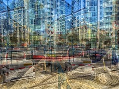 fragmentation (gwashley) Tags: california sanfrancisco caltrain 4th king avgcampro iphone worldphotographyday