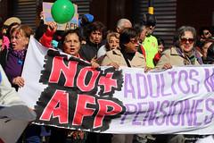 No + AFP !!! (Ricardo Obando) Tags: noafp chile protesta marcha pensiones sanfernando colchagua canon t5i