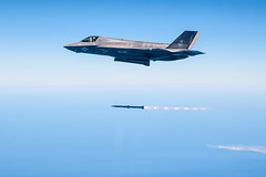 F-35 Weapons Delivery Accuracy Tests (Lockheed Martin) Tags: edwardsafb edwardsairforcebase f35 f35b f35a f35c f35lightningii