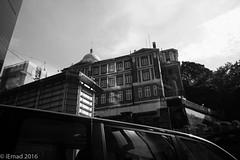 Life in Motion - Urban exploration... (EHA73) Tags: summicronm1228asph leica leicamm typ246 hongkong travel streetphotography bw monochrome blackandwhite buildings urban car architecture victorian exploration