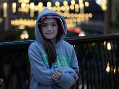 Rainy Day Jane (JasonCameron) Tags: city portrait lake cute girl rain utah hoodie kid warm salt dry