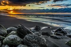 bare rocks (Jose MGD) Tags: longexposure sunset sea españa landscape coast mar amazing nikon paisaje canarias tenerife canary marino d7100 sigma1750