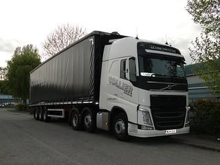 Collier Haulage Ltd Volvo FH Globetrotter WU14 EUV