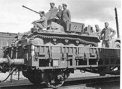 "Flakpanzer 1 on Railway • <a style=""font-size:0.8em;"" href=""http://www.flickr.com/photos/81723459@N04/18146482592/"" target=""_blank"">View on Flickr</a>"