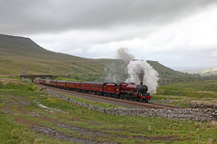 Steam on the Settle & Carlisle (Treflyn) Tags: steam carlisle settle galatea