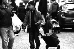 Shopping cart (sandklef) Tags: boy shop shopping nikon 7100 sweden gothenburg shoppingcart sverige cart fleamarket majorna loppmarknad nikond7100