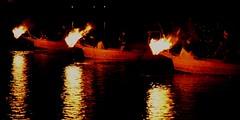 ✪木曽川鵜飼の開幕① -愛知県犬山市-- (m-miki) Tags: japan fishing nikon 日本 cormorant 愛知 犬山 d610 篝火 木曽川 鵜飼い