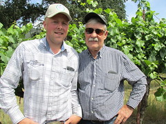 RobertIrwinGregNelson (Nancy D. Brown) Tags: california vineyard rancher hopland robertirwin gregnelson superiorfarms