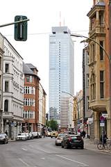 Berlin (Tobias Mnch) Tags: road street city building berlin architecture germany hotel cityscape highrise alexanderplatz parkinn