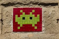 Invader (v.sellar) Tags: streetart montpellier invader