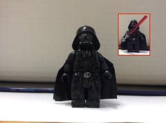 second entry for Boss Bricks contest: Darth Vader (cullenjason72) Tags: star wars episode 5 v empire stikes back lego custom