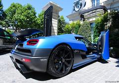 Door Up (MT Supercars) Tags: koenigsegg agera r agerar egg hypercars hypercar supercars supercar mtsupercars blue matt matte mat mate bleu rare hyperrare hyper paris summer 2016