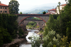 The bridges of  Castelnuovo di Garfagnana, Tuscany, Italy (ken Dowdall) Tags: bridges stonebridges italy tuscany river mountians alps italianalps castelnuovodigarfagnana apenninemountains apuanalps
