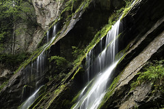 Silk Trail (creyesk) Tags: waterfall water silky smooth green rocks gorge wimbachklamm wimbach