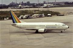 TransBrasil Boeing 737 (Rod.T28) Tags: aircraft vintage avio brazil flight boeing boeing727 transbrasil jacksonfloresjr