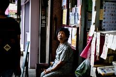 DSCF1624 Time is equal to everyone(Female) (Scofield Chan) Tags: street shadow hongkong snapshot elderly fujifilm streetphoto fujinon streetsnap fujinon35mm fujinon1855mm