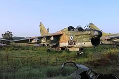 TA7  154483 (TF102A) Tags: aviation aircraft greekairforce corsair hellenicairforce araxos a7 abandoned scrap junk