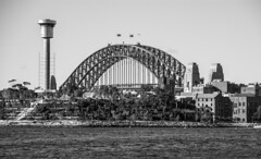 sydney harbour bridge (Greg Rohan) Tags: d7200 2016 water photography harbourbridge blackwhite bw bridge sydney sydneyharbourbridge