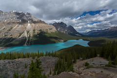 Peyto in Shadows (ken.krach (kjkmep)) Tags: peytolake