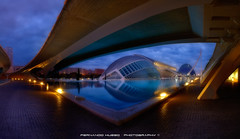 City of Arts and Sciences (Valencia) (Fernando Hueso Photography) Tags: valencia comunitat valenciana spain city cityscape arts sciences building night sunrise entertainment cultural modern tomorrowland fherstudio