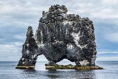 Hvitserkur Iceland (Einar Schioth) Tags: hvtserkur hvitserkur rock sky summer sea day canon clouds cloud coast cliff nationalgeographic ngc nature landscape photo picture outdoor iceland sland einarschioth