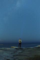 stars (FrederickMcdonald) Tags: stars night portrait light milkyway beach water blue canon canon5dmarkiii adventure wild outdoors