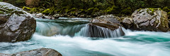 Hollyford River (grantg59@xtra.co.nz) Tags: hollyford river crystal clear rocks water bush waterfall stream landscape longexposure movement