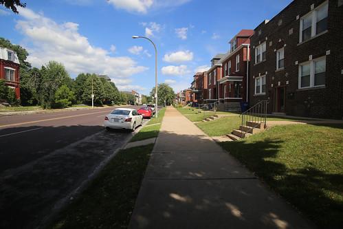 St. Louis Avenue in St. Louis Place