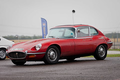 Jaguar e type (torquayadam) Tags: canon 5d mark ii mk2 bristol motor club family sports car day 2016 24 july jag jaguar e type red rat look