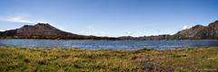 Batur Lake (Tirta Winata) Tags: indonesia bali batur lake caldera kedisan trunyan sky blue landscape fineart panorama panoramic 6x17 617