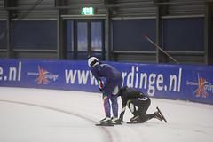 A37W3092 (rieshug 1) Tags: speedskating schaatsen eisschnelllauf skating worldcup isu juniorworldcup worldcupjunioren groningen kardinge sportcentrumkardinge sportstadiumkardinge kardingeicestadium sport knsb ladies dames massstart