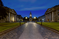 Trinity College, Dublin (Free Derry) Tags: ireland dublin night architecture ngc