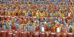 Betriebsversammlung (Raoul Brosch) Tags: industriefotografie chemie industrie landschaft industrielandschaft gas gasflaschen welt world germany deutschland leipzig technikdetails stillleben stilleben fabrik gasflasche gefahr explosiv
