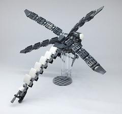 LEGO Mech Dragonfly-09 (ToyForce 120) Tags: lego robot robots mecha mech mechanic legomech legomoc bug insect