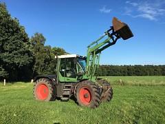 Fendt Xylon 520 Favorit (Vehicle Tim) Tags: fendt xylon favorit traktor trecker landmaschine fahrzeug