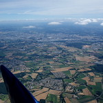 Passing Le Mans up high to get out of the thermals for a wee while