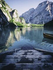 - Lago di Braies - (Lorenzo Mazzotti) Tags: lago lake landscape braies photography photo pic eos reflex 6d 16 1635 l 28 sun light