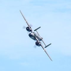 mitchell bomber 001 (Brian Wadie Photographer) Tags: 21816 extremestunt spitfiremk2 sunday beachassault blades mitchellbomber redarrowa redtigersfrefall sallyb typhoon