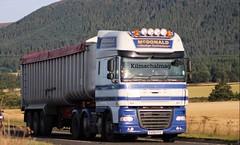 McDonald Haulage Contractors Invergordon DAF XF  FX08 FFC (Kilmachalmag) Tags: invergordon scaffold bulk bulker tipper haulage