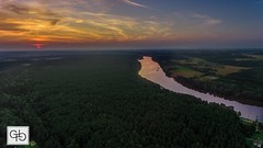 Birstonas, Lithuania. (GT Media) Tags: discover naturebeauty dronephotography earth naturelovers naturephotography nature gtmedia djiphantom4 river sunset lithuania planetearth photography drone landscape