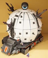 Technodrome (Hobbestimus) Tags: lego megabloks teenagemutant ninjaturtles shredder krang 80s cartoon toys