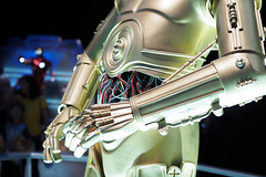 Posing  <Model:C-3PO> (littlekiss) Tags: c3po pne android robot vancouver thefairatthepne littlekissphotography posing