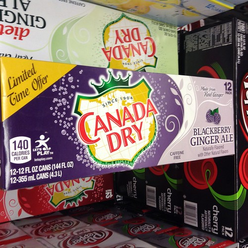 Canada Dry Blackberry Ginger Ale A Photo On Flickriver
