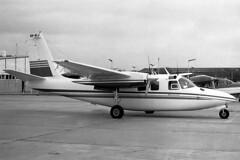 0022 (dannytanner804) Tags: ownerprivate aircraft rockwell 500s shrike commander reg vhacj cn 3178 essendon melbourne vic australia airportcodeymen date11111980