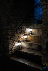 Three Lamps (meniscuslens) Tags: lamp light castle maastricht fort holland nederland