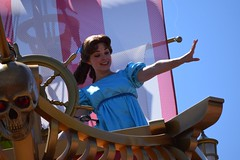 Wendy Likes to Fly (mickeyspremium) Tags: peterpan disney disneyworld waltdisneyworld wendy magickingdom wendydarling festivaloffantasy