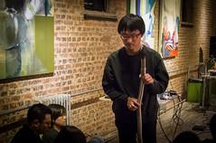 zhu wenbo (Sub Jam) Tags: music night concert performance event miji yanjun 颜峻 meridianspace