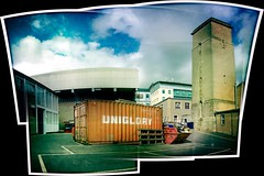 UNIGLORY Engineering Panorama (billyrosendale) Tags: panorama scotland edinburgh pano panoramic universityofedinburgh kingsbuildings uniglory uoe hipstamatic